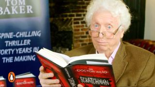 Tom Baker reading his new book Doctor Who: Scratchman.
