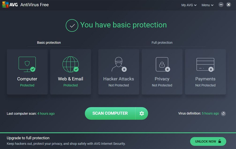 best free antivirus for windows 10 no ads