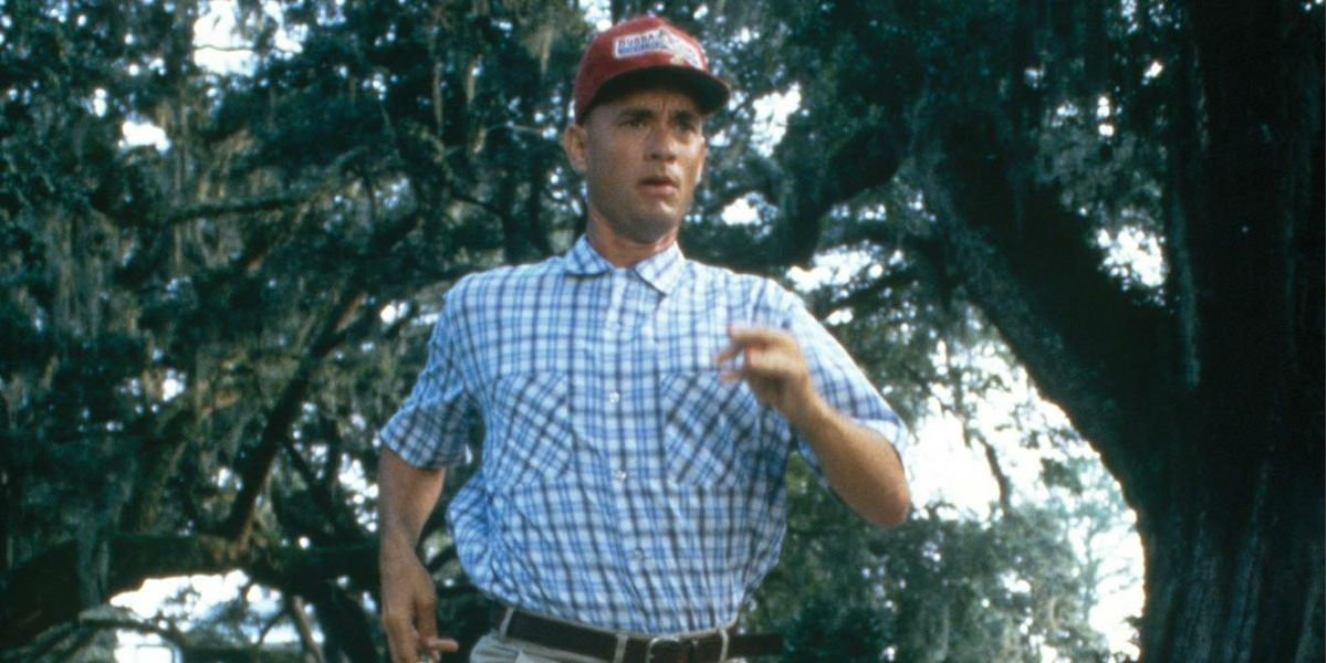 Forrest Gump just felt like running.