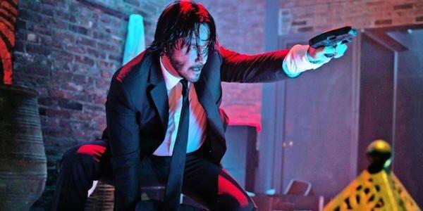 John Wick points gun John Wick Chapter 3