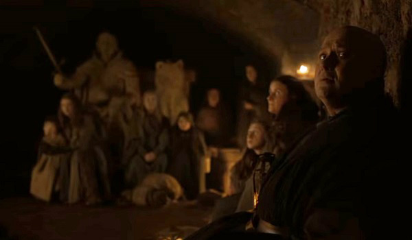 Crypts Winterfell Game of Thrones HBO