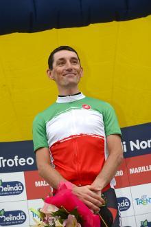 Marco Pinotti (BMC) in his new tricolore jersey