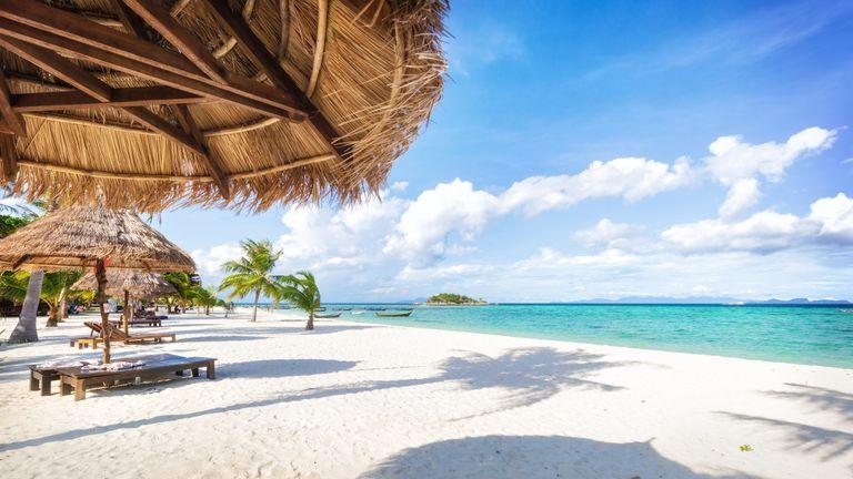 thai beach holiday