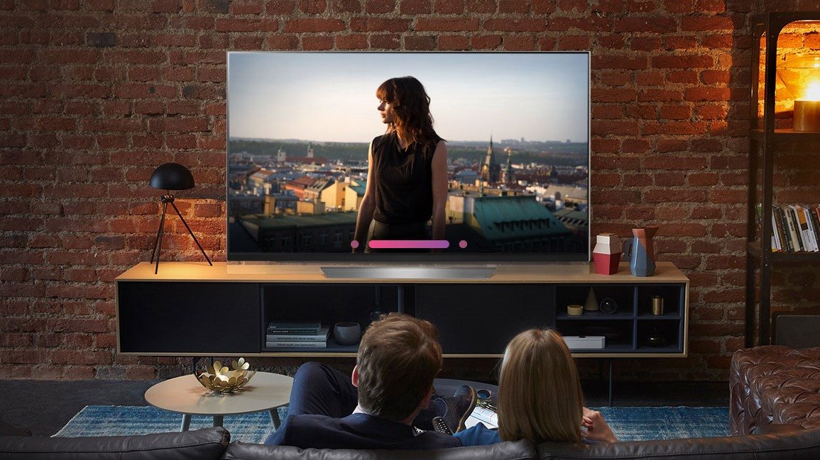 All recent LG OLED TVs are DV-capable.