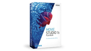 Product shot of VEGAS Movie Studio 16