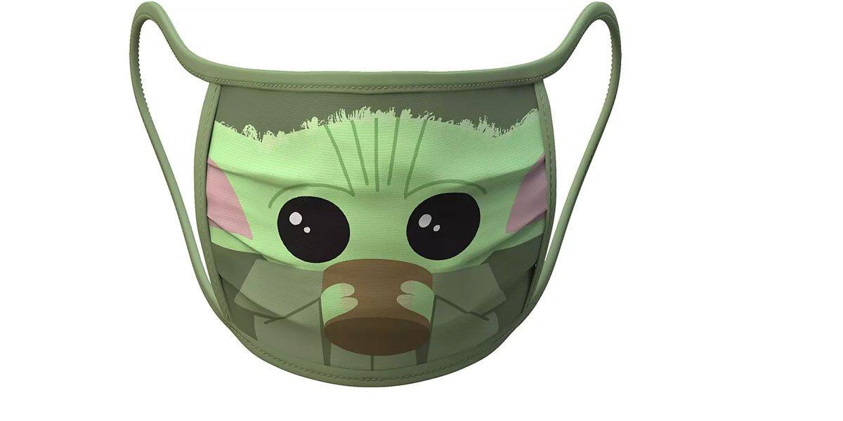 Baby Yoda Face Mask Disney