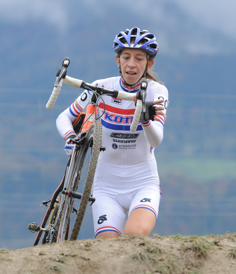 Helen Wyman, Cyclo-Cross World Cup 2010/11 round 1, Aigle, Switzerland