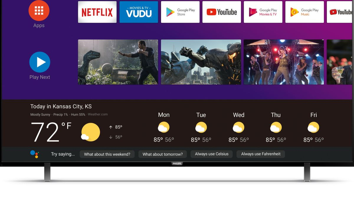 Philips TVs with Android TV and Google Assistant finally coming to the US