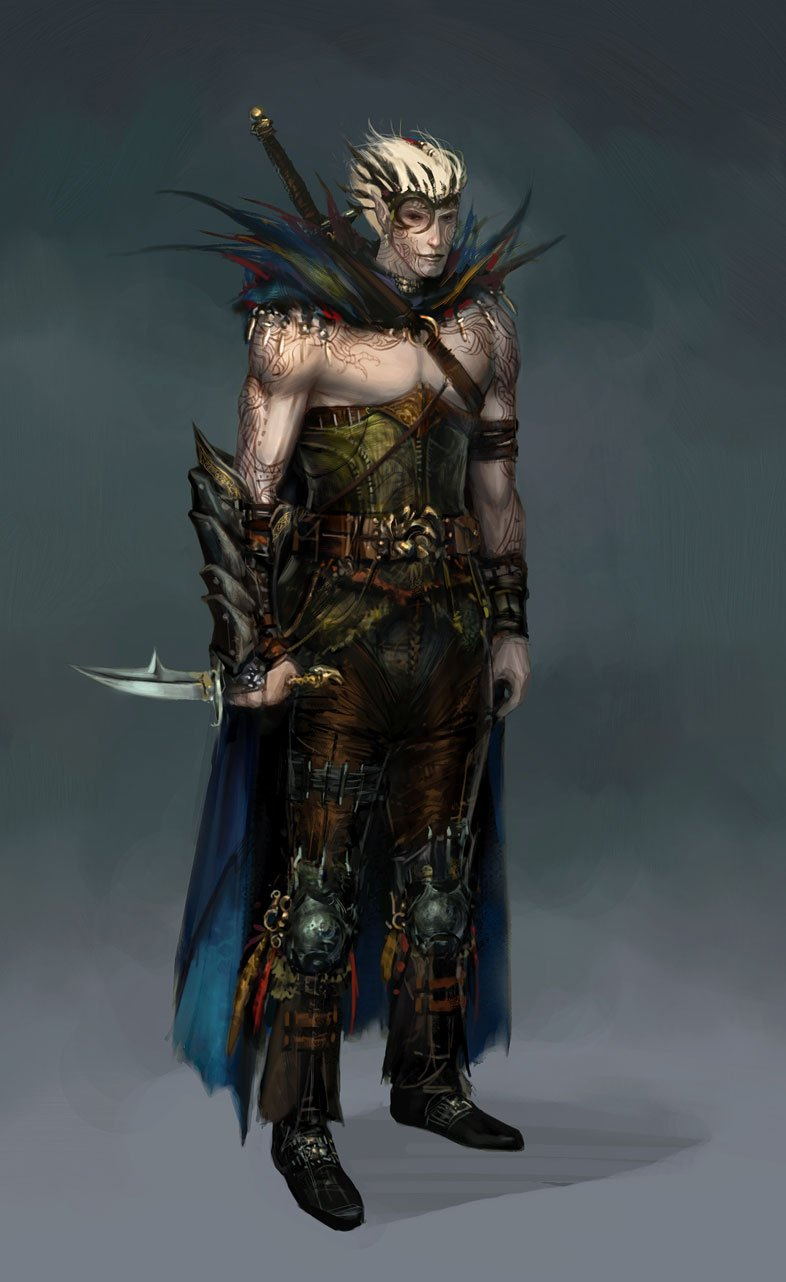 Dragon Age: Origins Zevran Trailer And Screenshots #9581