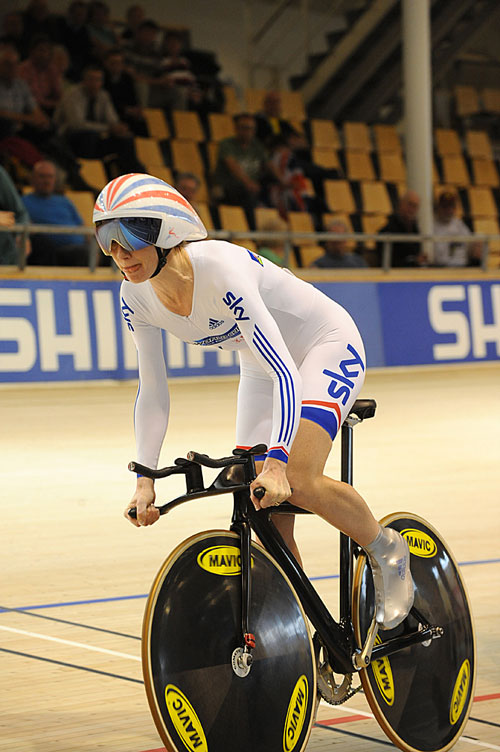 Wendy Houvenaghel, UCI Track Cycling World Championships 2010, women's individual pursuit qualifying