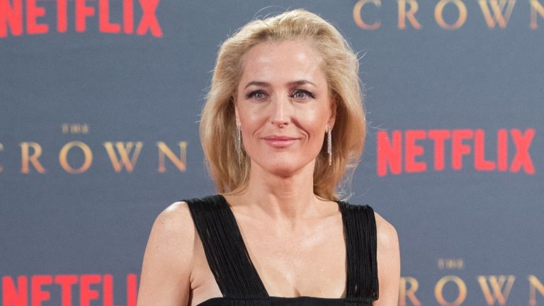 Gillian Anderson plays Margaret Thatcher in The Crown