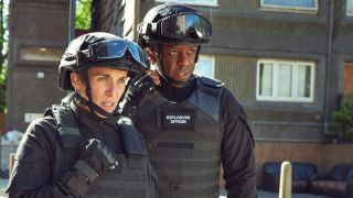 Trigger Point's Vicky McClure and Adrian Lester