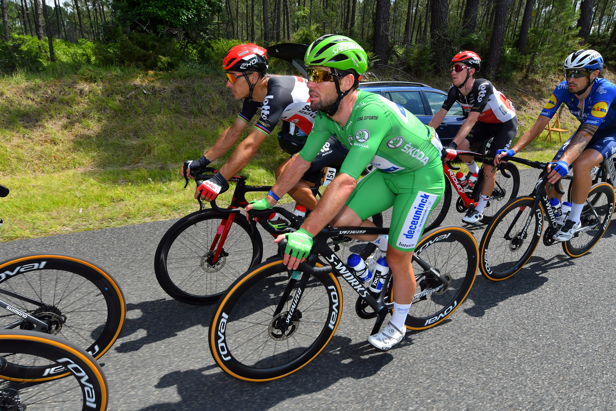 Tour de France 2021 - 108th Edition - 19th stage Mourenx - Libourne 207 km - 16/07/2021 - Mark Cavendish (GBR - Deceuninck - Quick-Step) - photo Dario Belingheri/BettiniPhoto©2021