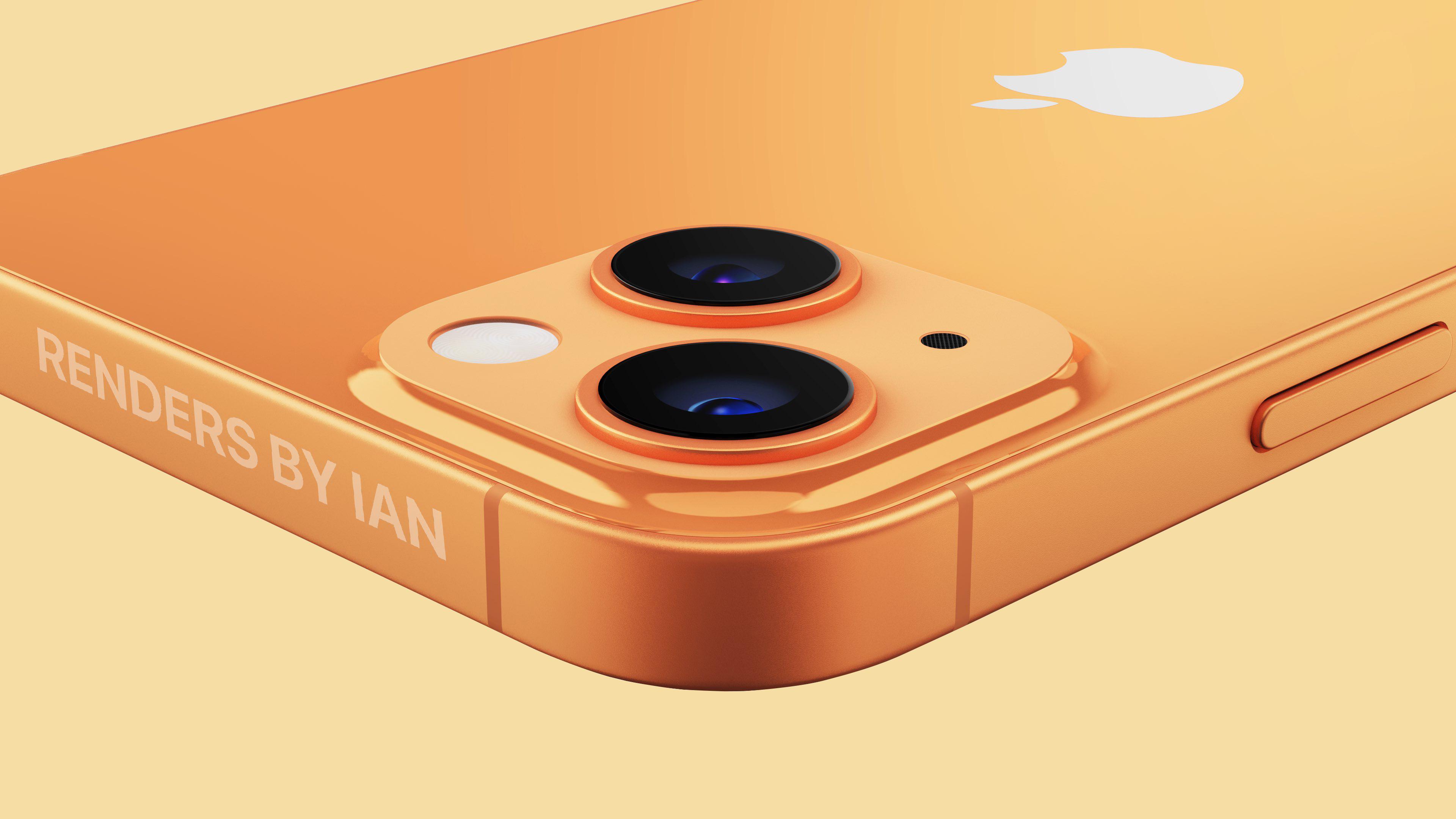 iPhone 13 renders by Ian Zelbo