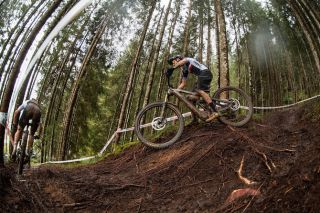 Jerome Gilloux (France) was silver medalist past two years at eMTB Worlds
