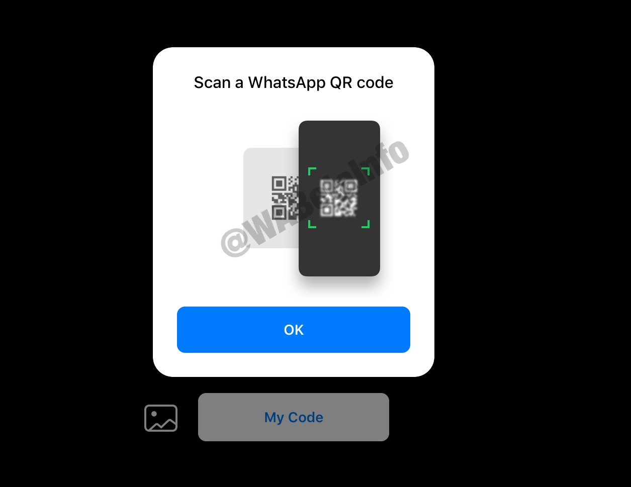 WhatsApp QR scan in beta