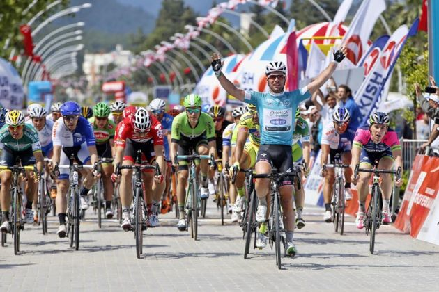 Mark Cavendish wins Stage 2 of the 2014 Tour of Turkey