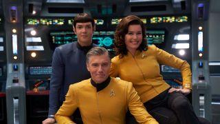 The Star Trek: Strange New Worlds crew