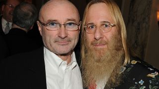 John Kalodner, right, with Phil Collins in 2010