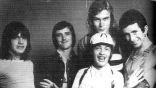 AC/DC with late bassist Paul Matters