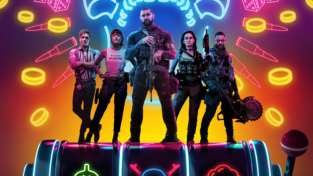 A promotional image for Army of the Dead on Netflix