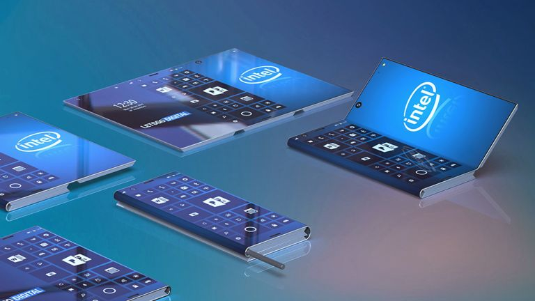 Intel foldable phone concept