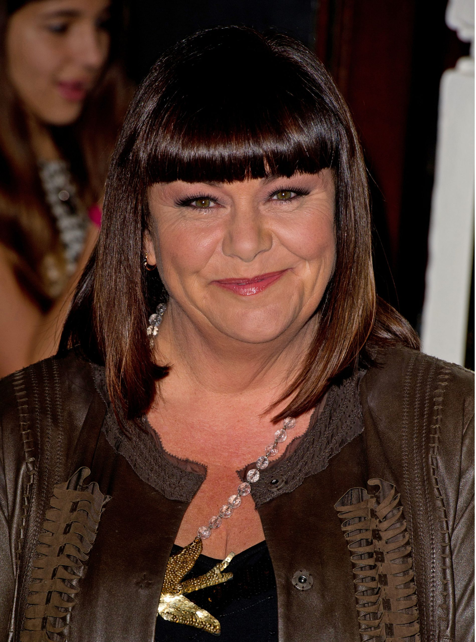 Dawn French Viva Forever press night photo