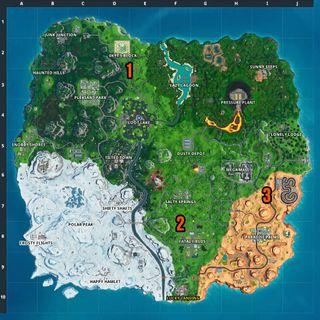 Fortnite hidden battle stars: Where to find all of the Season 10 hidden battle stars in loading screens