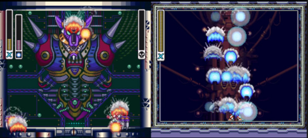 Mega Man X and Mega Man X2 beaten at the same time