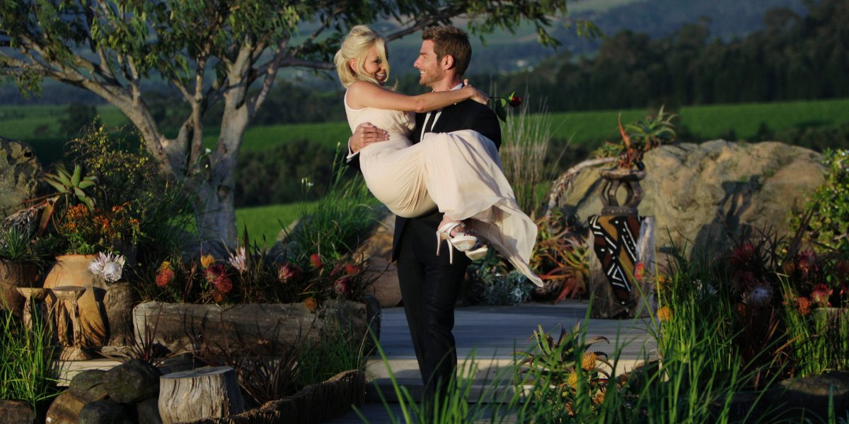 Emily Maynard and Brad Womack on The Bachelor