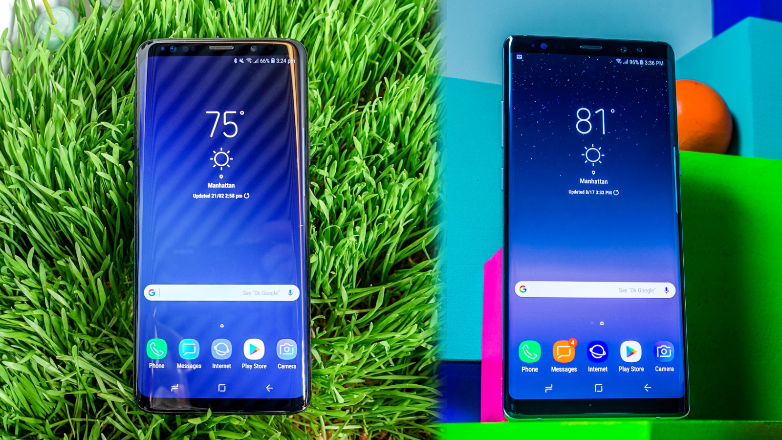 Samsung Galaxy S9 Plus Vs Samsung Galaxy Note 8 Techradar