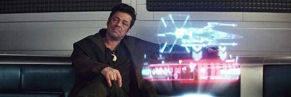 Benicio del Toro in Star Wars: The Last Jedi