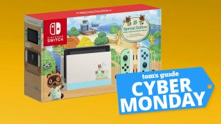 Cyber Monday Nintendo Switch Deal Get The Elusive Animal Crossing Edition Now Tom S Guide
