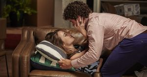 Evie McGuire makes moves on Mason Morgan after too much to drink in Home and Away
