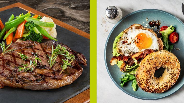 High-protein breakfast vs high-protein dinner