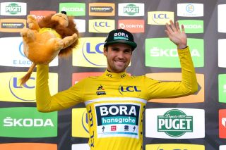Bora-Hansgrohe's Max Schachmann won the 2020 Paris-Nice after leading from start to finish