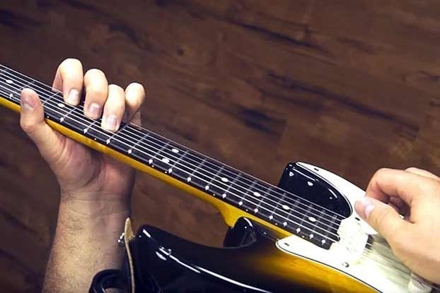 How to Use Open Strings for Blues