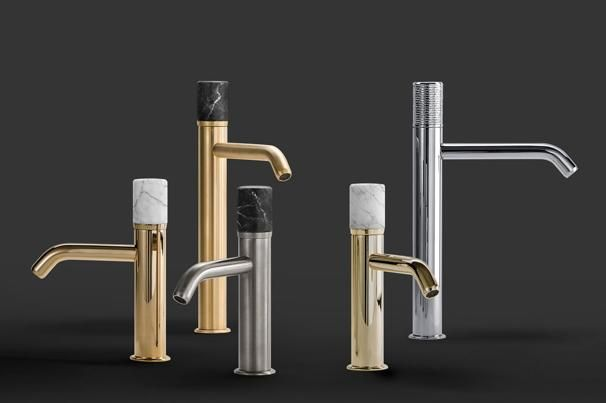 These bathroom taps are awash with style and substance