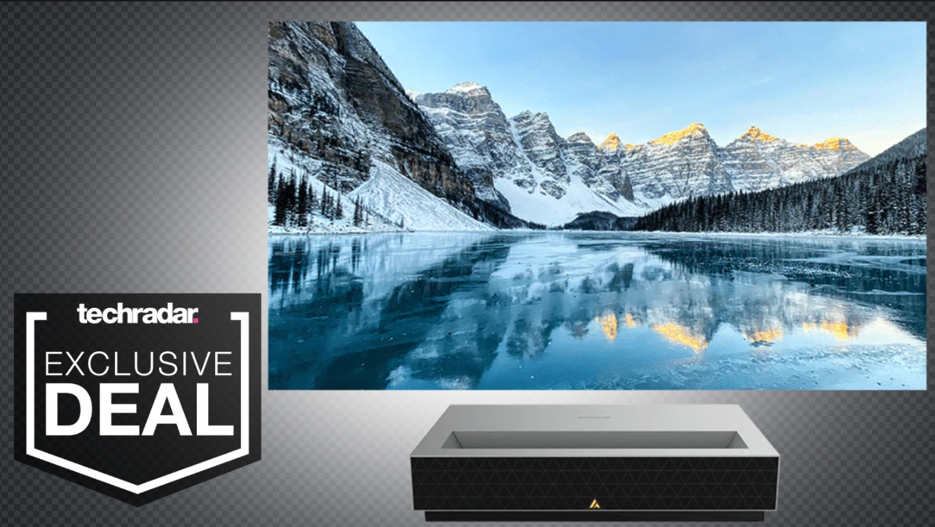 Check out the cheapest 4K UST projector in the world right now thumbnail