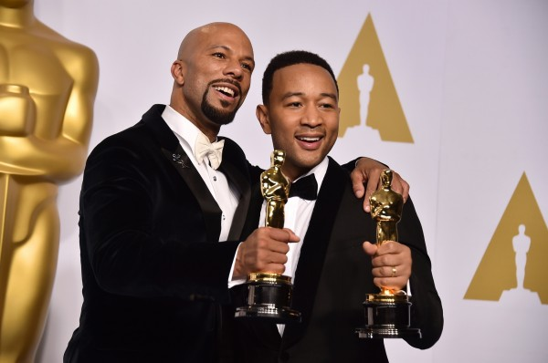 John Legend and Common at the 2015 Oscars