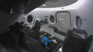 "A ""Celestial Buddy"" will join Ripley the dummy astronaut on the first test flight of SpaceX's Crew Dragon."
