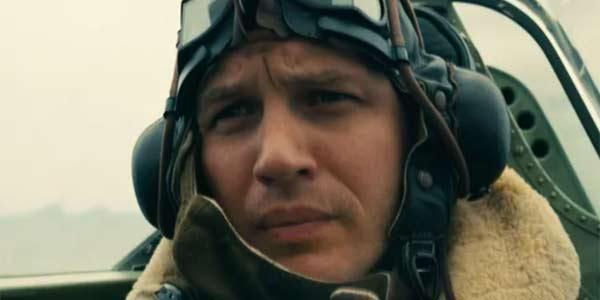 Tom Hardy in Dunkirk