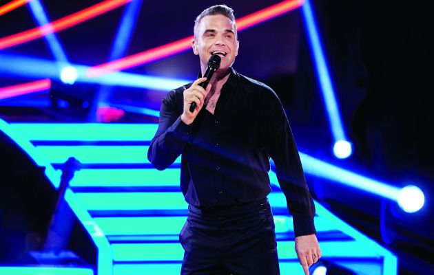 He's already won 17 BRIT Awards and Robbie Williams can certainly entertain us