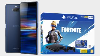 Get a Fortnite PS4, extra controller and 12 months of PS