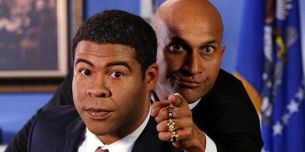 Jordan Peele as Barack Obama and Keegan-Michael Key as Luther on Key & Peele
