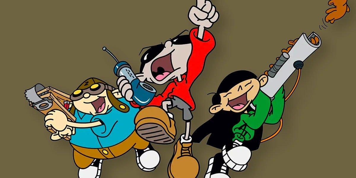 Some of the characters in Codename: Kids Next Door.