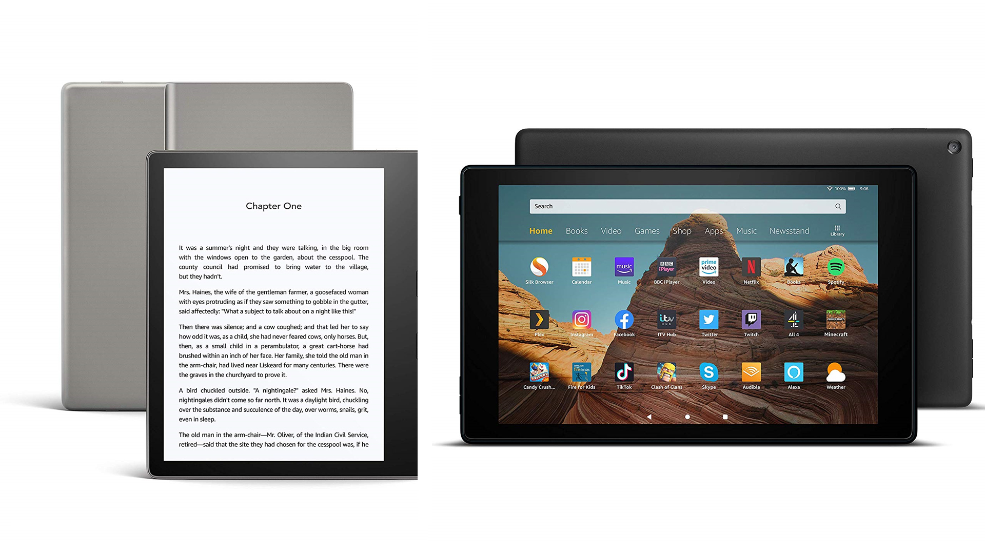 Kindle Vs Fire Which Amazon E Reader Is Right For You In 2021 Top Ten Reviews
