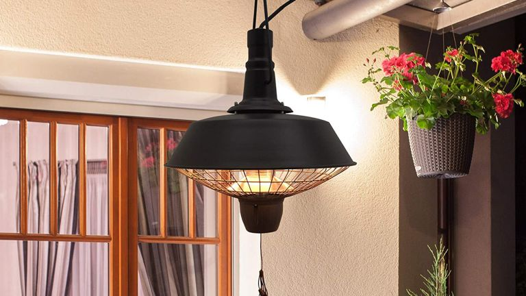 the best patio heaters:OUtsunny hanging heater