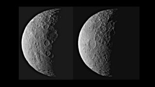 NASA's Dawn probe captured this image of Ceres on Feb. 25, 2015. Dawn will begin studying the dwarf planet in earnest after the probe reaches its first science orbit on April 23, 2015.