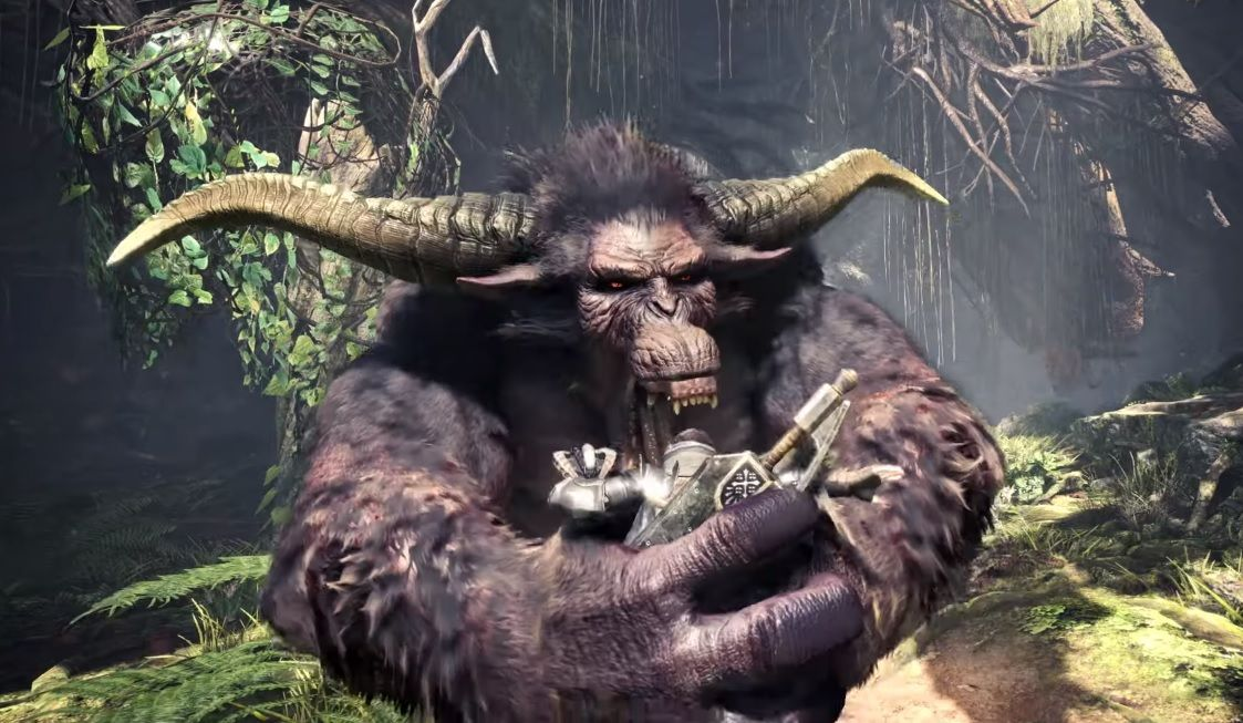 Be afraid, because Rajang is coming to Monster Hunter World: Iceborne this October